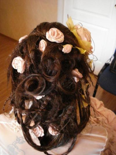 свадебные прически 2011 инструкция